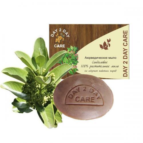 Day2day растительное мыло sandalwood 100 г