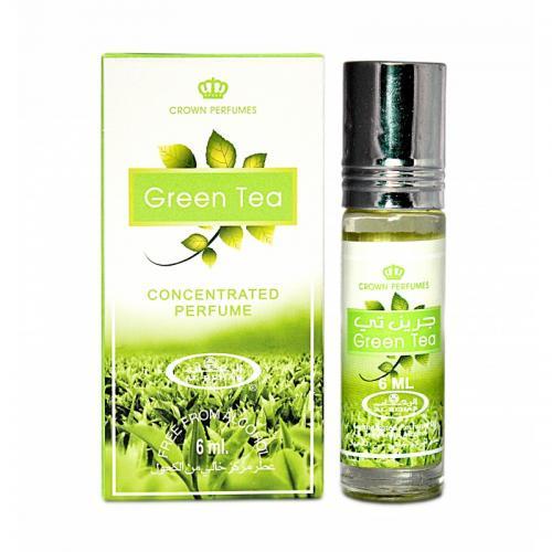 Масляные духи Al Rehab Green tea