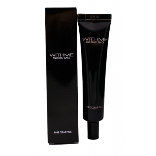WITHME Маска для лица очищающая awesome black pore clean pack 30 г