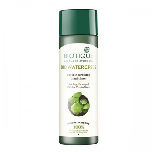 Питательный кондиционер для поврежденных волос Биотик Био Водяной Кресс (Biotique Bio Watercress Fresh Nourishing Conditioner), 120мл