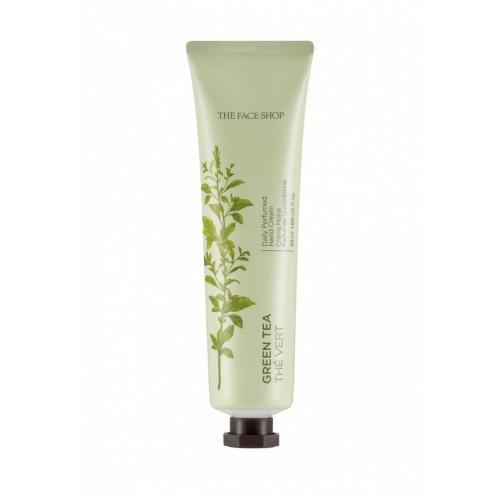 The Face Shop Daily Perfumed Hand Cream Парфюмированный крем для рук 05 Green Tea, 30 мл