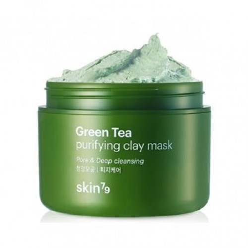 SKIN79 Green Tea Purifying Clay Mask Маска для лица, 100 мл