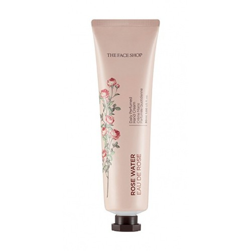 The Face Shop Daily Perfumed Hand Cream Парфюмированный крем для рук 01 Rose Water, 30 мл