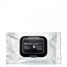 Tony Moly Pro Clean Smoky Cleansing Tissue Очищающие салфетки, 30 шт