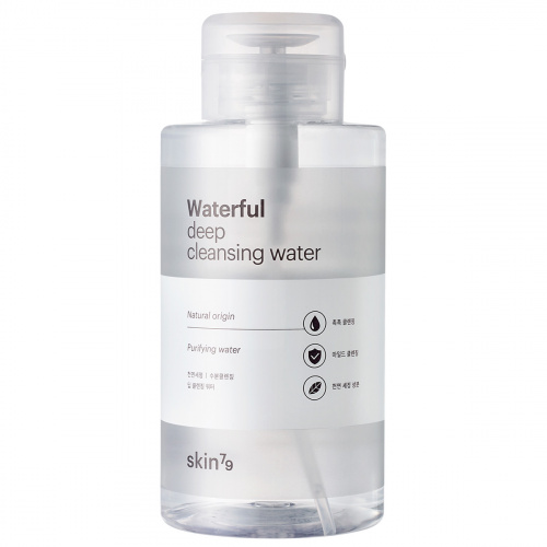 SKIN79 Waterfull Deep Cleansing Water Мицеллярная вода, 500 мл