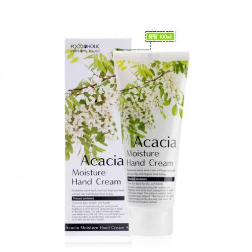 Крем для рук FoodaHolic Acacia Moisture Hand Cream, 100мл, FoodaHolic