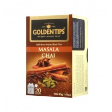 Чай Масала Golden Tips Masala Chai Tea Bags 20 пакетиков