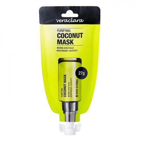 Маска кокосовая очищающая Veraclara Purifying Coconut Mask, Veraclara, 27 г
