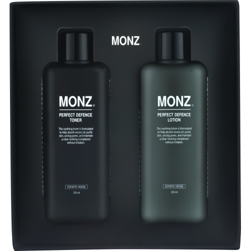 Набор Тонер+лосьон МУЖСКОЙ MONZ PERFECT DEFENCE SET (PERFECT DEFENCE TONER & PERFECT DEFENCE LOTION)