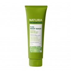 EVAS NATURIA Гель для душа МЯТА и ЛАЙМ PURE BODY WASH Wild Mint & Lime 100 мл
