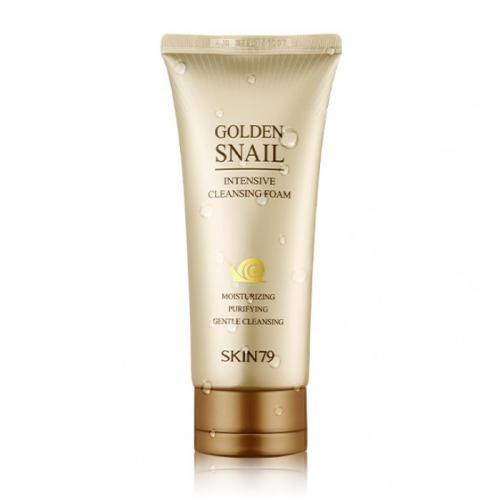 Пена для умывания Skin79 Golden Snail Intensive Cleansing Foam, 125 мл.