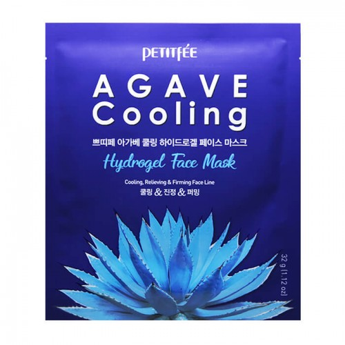 Маска д/лица гидрогел. c АГАВОЙ Agave Cooling Hydrogel Face Mask, 1 шт