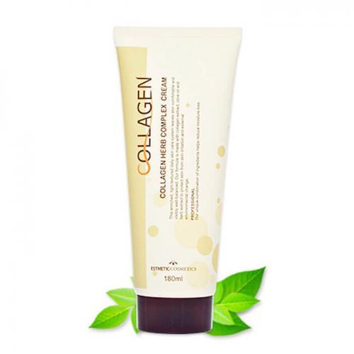 Крем для лица Esthetic House Collagen Herb Complex Cream, 180 мл