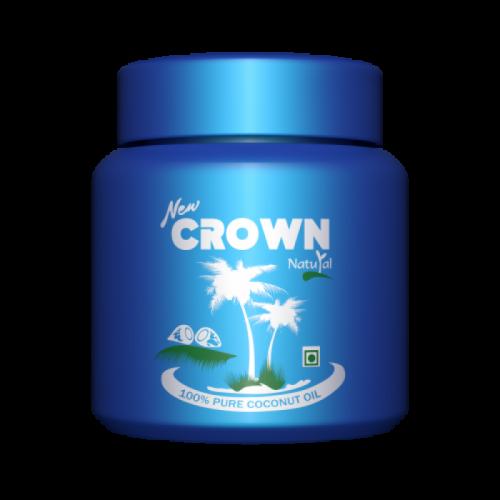Кокосовое масло натуральное для волос и тела Crown, 200 мл