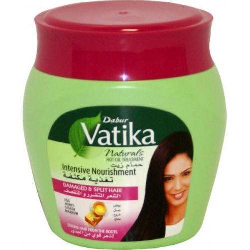 Маска для волос Дабур Ватика Vatika интенсивное питание, 500 г