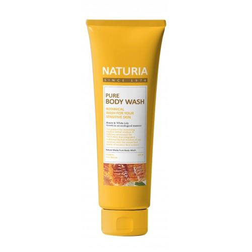 Гель для душа Naturia honey & white lily мед/лилия 100 мл