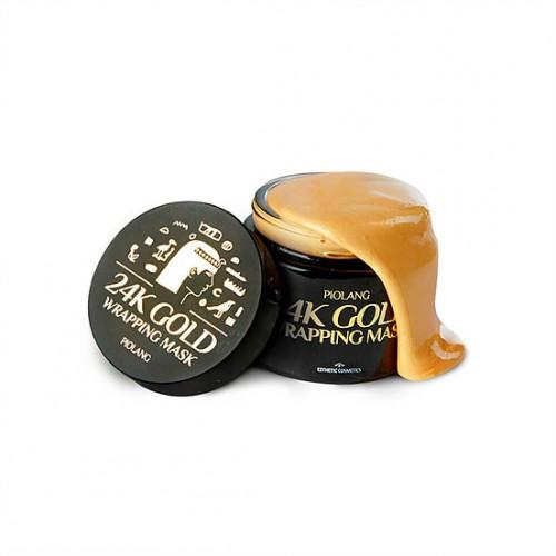Золотая маска для лица Esthetic House Piolang 24K Gold Wrapping Mask, 80 мл