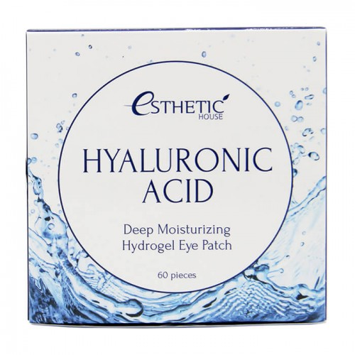 Патчи для век с гиалуроновой кислотой Esthetic House Hyaluronic Acid Hydrogel Eye Patch