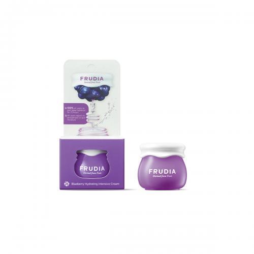 Миниатюра увлажняющий крем с черникой Frudia Blueberry Hydrating Cream Фрудиа 10 мл