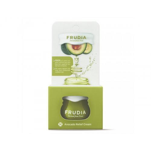 Миниатюра восстанавливающий крем с авокадо  Frudia Avocado Relief Cream Jar Фрудиа 10 мл
