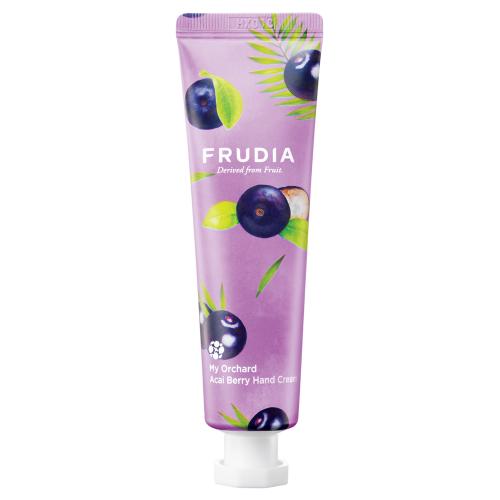 Крем для рук c ягодами асаи Frudia Squeeze Therapy Acai Berry Hand Cream Фрудиа 30 мл