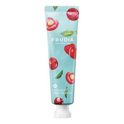 Крем для рук c вишней Frudia Squeeze Therapy Cherry Hand Cream Фрудиа 30 мл