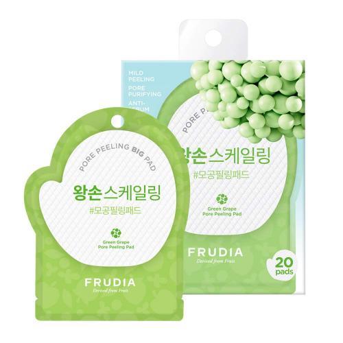 Фрудиа Отшелушивающие диски с зеленым виноградом (саше) Frudia Green Grape Pore Peeling Pad (Pouch)