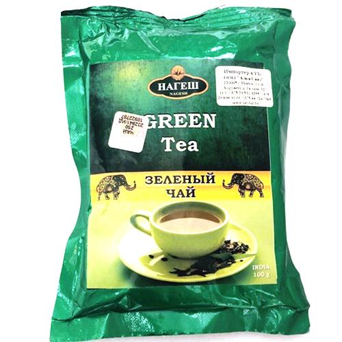 Чай Зеленый байховый / Green Tea, Nagesh, 100г