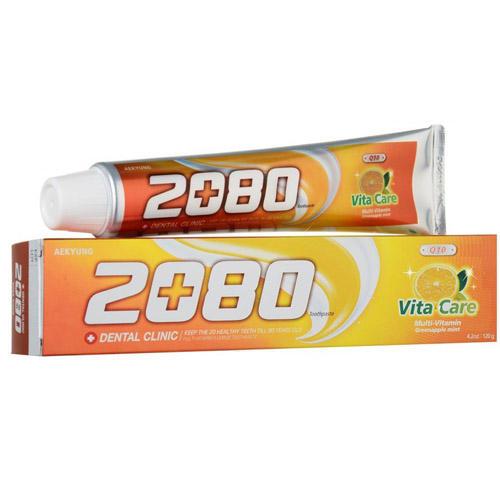 Зубная паста со вкусом мяты и зеленого яблока (витаминный уход) DC 2080, 120 г