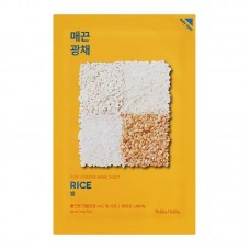 Pure Essence Mask Sheet Rice тканевая маска для лица, 20 мл, Holika Holika
