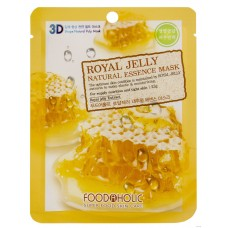 Маска для лица FoodaHolic Royal Jelly Natural Essence Mask, 23мл, FoodaHolic