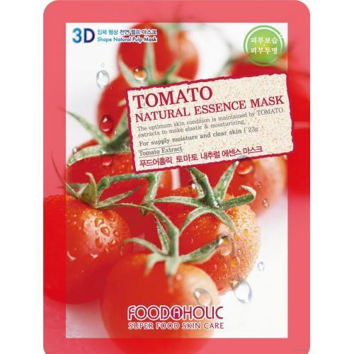 Маска для лица FoodaHolic Tomato Natural Essence Mask, 23мл, FoodaHolic