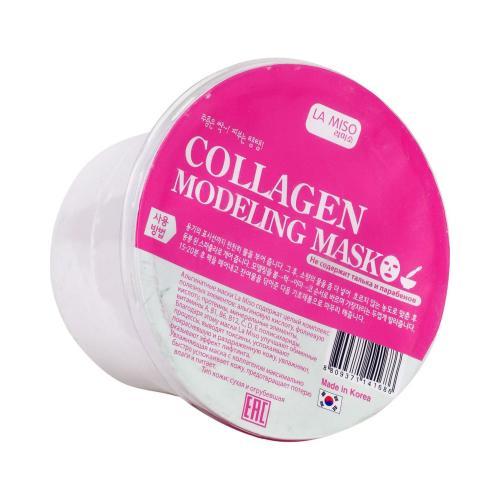 Маска для лица моделирующая (альгинатная) с коллагеном, для сухой кожи, 28 г, LA MISO