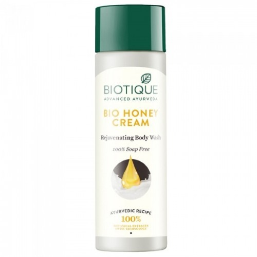 Гель для душа Биотик Био Мед (Biotique Bio Honey Cream Lightening Body Wash), 210мл