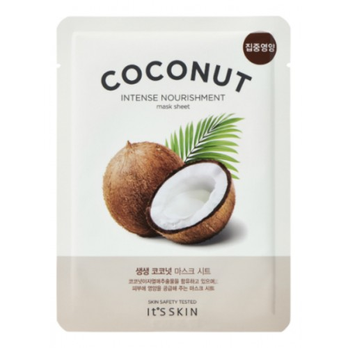 The Fresh Mask Coconut тканевая маска для лица, 18 г, It's Skin
