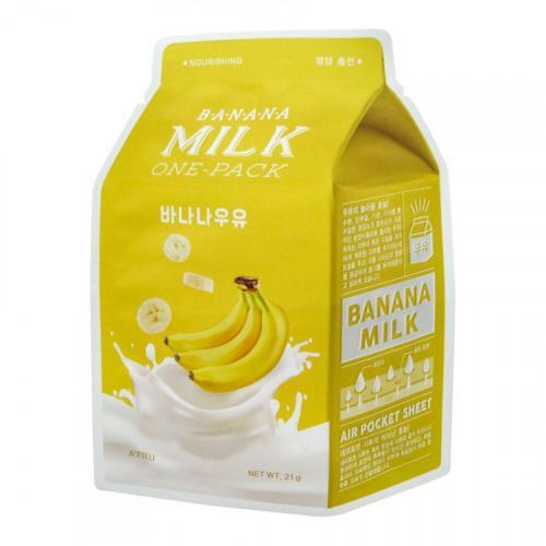 Тканевая маска для лица A'PIEU Banana Milk One-Pack (Nourishing) (21г)