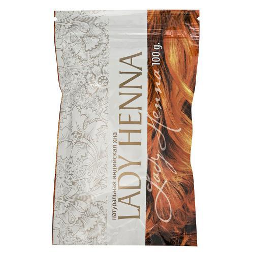 "Натуральна индийская хна ""Lady Henna"" 100 г"
