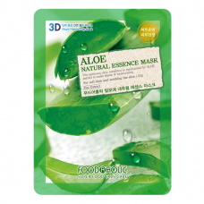 Маска для лица FoodaHolic Aloe Natural Essence Mask, 23мл, FoodaHolic