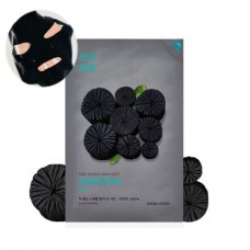 Pure Essence Mask Sheet Charcoal тканевая маска для лица, 20 мл, Holika Holika