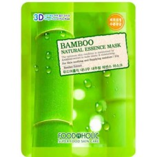 Маска для лица FoodaHolic Bamboo Natural Essence Mask, 23мл, FoodaHolic