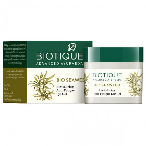 Гель для кожи вокруг глаз Биотик Био Водоросли (Biotique Bio Seaweed Revitalizing Anti-Fatigue Eye Gel), 15г