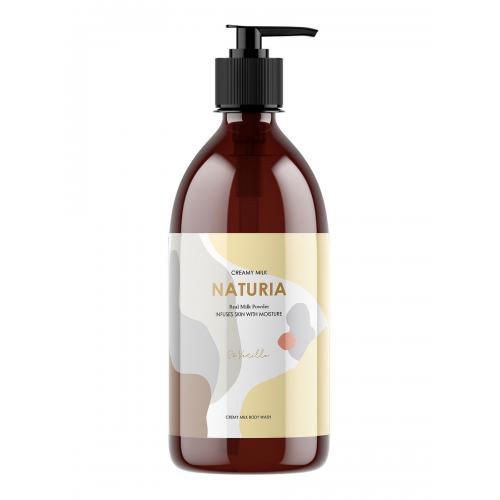 [NATURIA] Гель для душа ВАНИЛЬ Creamy Milk Body Wash - So vanilla, 750 мл