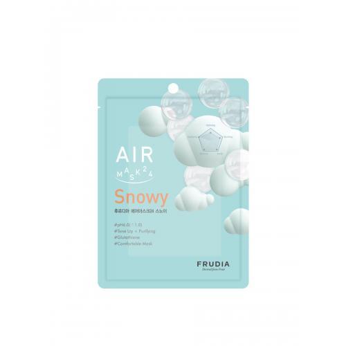 Обновляющая кремовая маска для лица Frudia air mask 24 snowy (1pcs) 25 мл