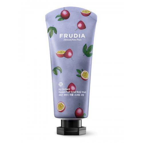 FRUDIA Скрабирующий гель для душа с маракуйей (200мл) / Frudia My Orchard Passion Fruit Scrub Body Wash