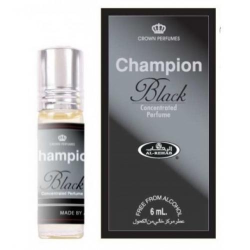 Масляные духи Al Rehab CHAMPION BLACK 6 Мл
