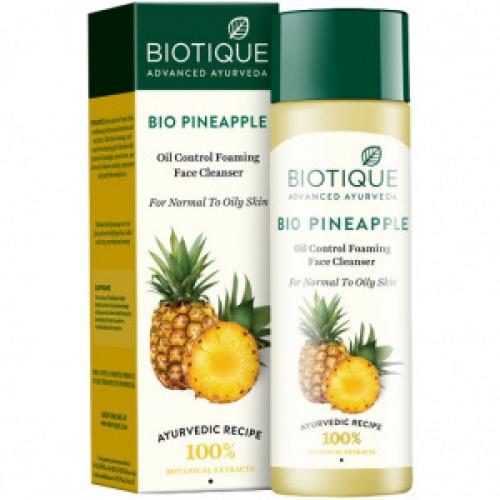 Bio Pineapple Oil Control Foaming Face Cleanser / Биотик Ананас Гель-Пенка Для Умывания 120мл