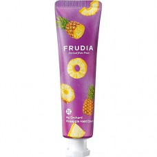 FRUDIA Крем для рук c ананасом (30г) / Frudia Squeeze Therapy Pineapple Hand Cream
