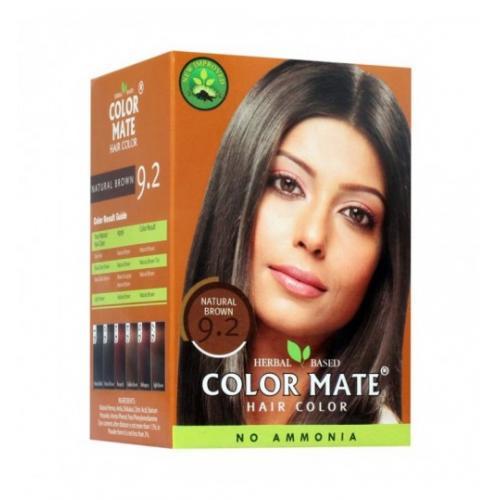 Краска для волос Color Mate Hair Color (тон 9.2, коричневый) 75г