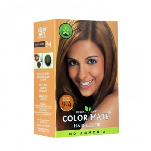 Краска для волос Color Mate Hair Color (тон 9.4, золотисто-коричневый) 75 г