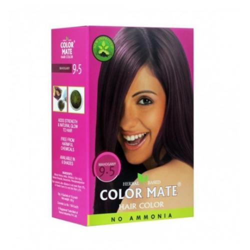 Краска для волос Color Mate Hair Color (тон 9.5, махагон) 75 г